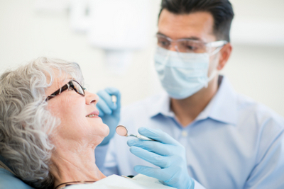 Dental screenings are also performed by Dr. Hosseini in San Antonio, TX
